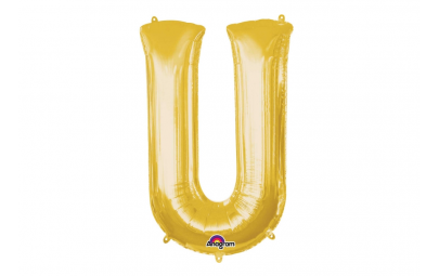Balon foliowy 33 litera U...