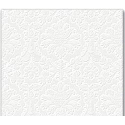 Serwetka inspiration perforowana biała