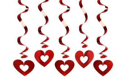 Świderki serca czerwone...