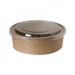 Pokrywka okrągła pet transparentna 150mm 50szt