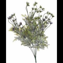 Sztuczna roślina gałązka fioletowa 45cm