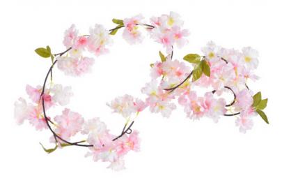 Girlanda kwitnąca wiśnia 180cm