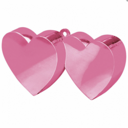Obciążnik dwa serca różowe...