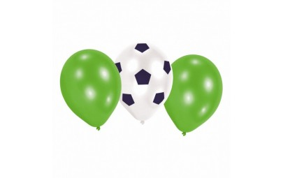 Balon 9 Piłka Nożna 6 szt.