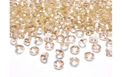 Konfetti diamentowe złote...
