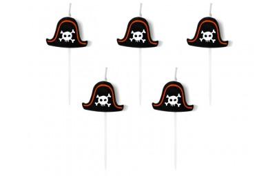 Świeczki urodzinowe Piraci...