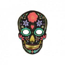Maska Czarna Dia de Los...