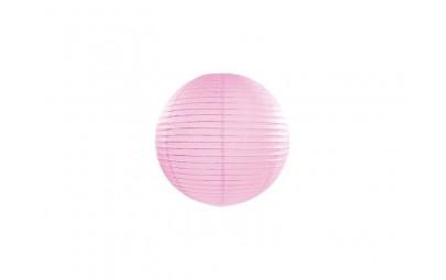 Lampion papierowy różowy 20cm