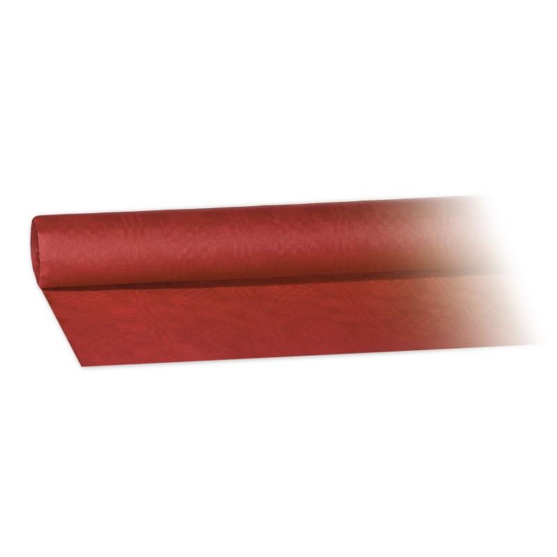 Obrus papierowy bordowy 8x1,20m
