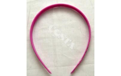 Opaska do włosów różowa z...