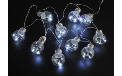 Lampki led plastikowe...