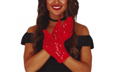 Rękawiczki czerwone z...