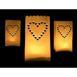 Lampion torebka na świecę...