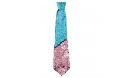 Krawat cekinowy zmieniający...