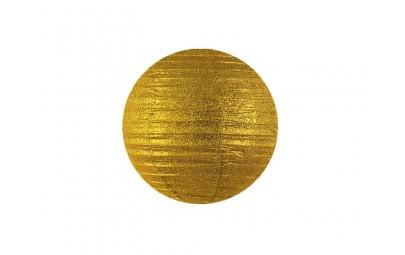 Lampion brokatowy złoty 20cm