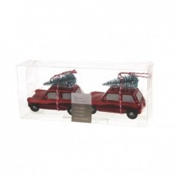 Samochód z choinką 10x4x7cm...