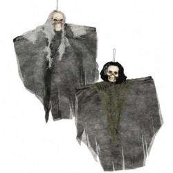 Szkielet kościotrup podwieszany upiór halloweenowy mix 30cm