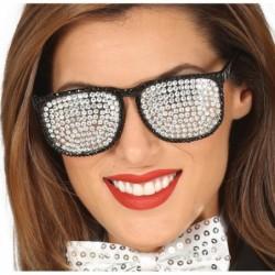 Okulary ze srebrnymi oczkami