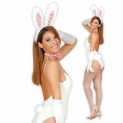 Zestaw króliczek biały