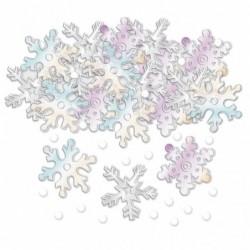 Konfetti śnieżynki 14g