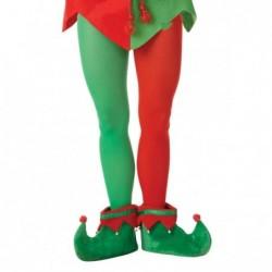 Rajstopy męskie Elf zielono-czerwone roz.M/L
