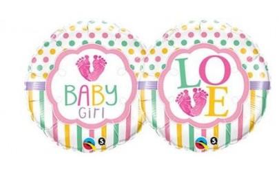 Balon foliowy 18 Love Baby...