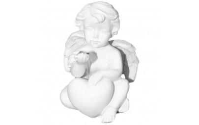 Anioł z kryształkiem 4x6cm