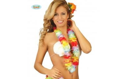 Naszyjnik hawajski kolorowy