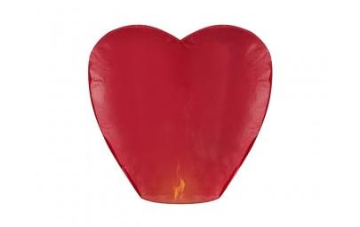 Lampion serce czerwone...