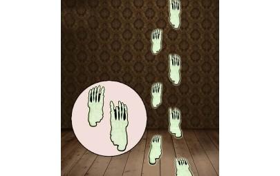 Ślady stóp fluorescencyjne...