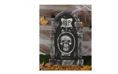 Nagrobek z czaszką RIP 50X30cm
