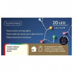 Lampki kulki 20 led wewnętrzne multikolor 100cm