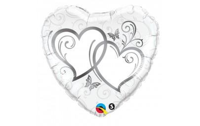 Balon 18 splecione serca...