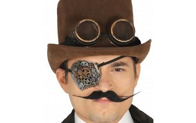 Okulary okrągłe steampunk w...