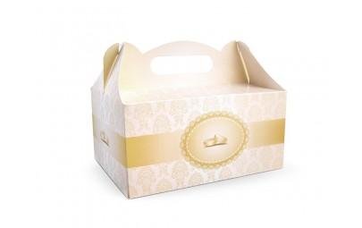 Ozdobne pudełko na ciastko...