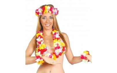 Zestaw hawajski (naszyjnik,...
