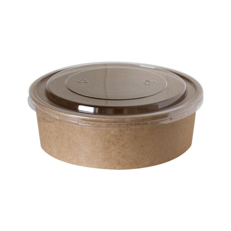 Pokrywka okrągła wypukła pet transparentna 180mm 50szt
