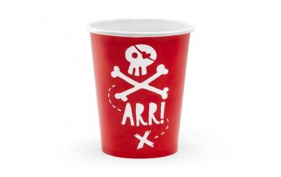 Kubeczki czerwone Piraci...