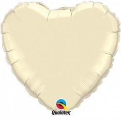 Balon foliowy 36 serce ekri