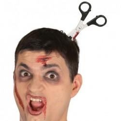 Opaska nożyczki w głowie 11cm