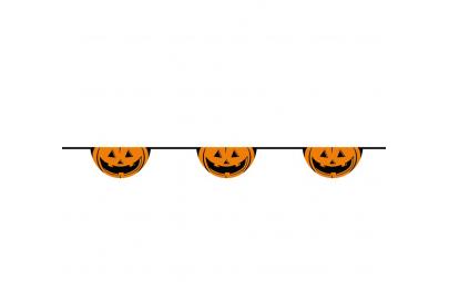Girlanda halloweenowa baner...