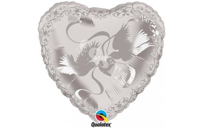 Balon foliowy 24 serce...
