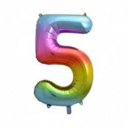 """Balon foliowy 36""""cyfra 5..."""