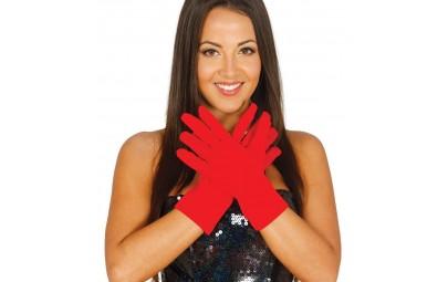 Rękawiczki czerwone 25cm