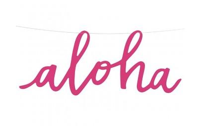Baner papierowy Aloha...