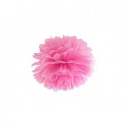 Pompon bibułowy różowy 25cm