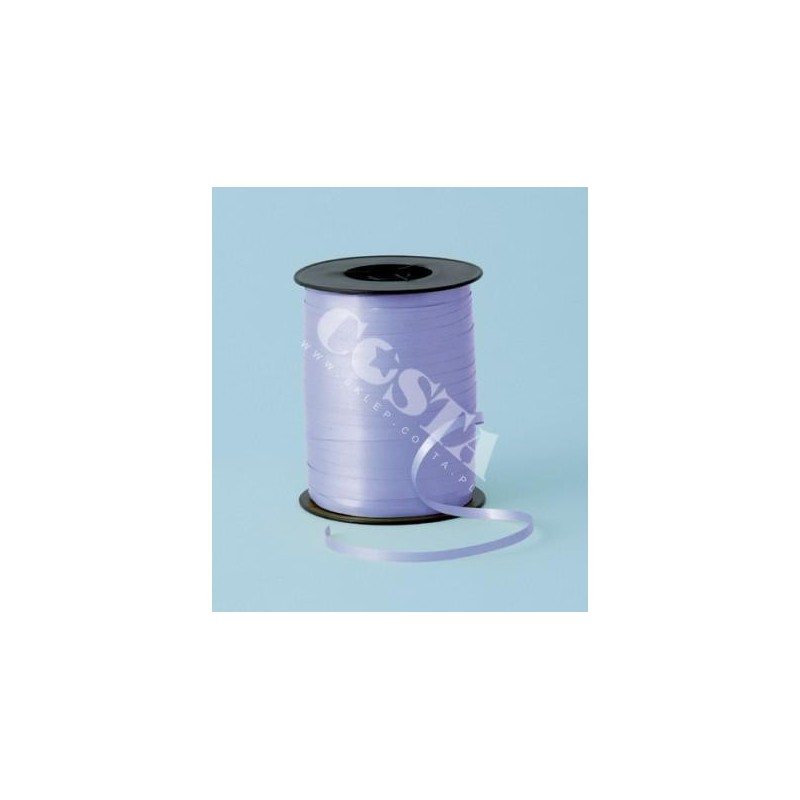 Wstążka pastelowa liliowa na szpuli 5mm x 500m