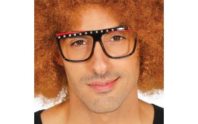 Okulary czarne z ćwiekami