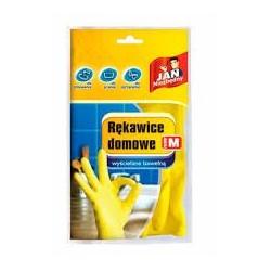 Rękawice gumowe-gospodarcze 2szt roz.M