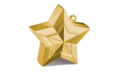 Obciążnik gwiazda złota 150 g